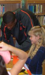 Solid Orange Squad Visits Three Elementary Schools November 23-24
