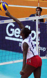 Simmons Leads Team USA to 3-0 Win at Junior World Volleyball Championships