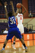 Lady Tigers Fall, 82-75, Against Georgia State On Saturday