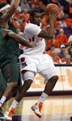 Clemson Men's Basketball Team to Play Host to Virginia Saturday Afternoon