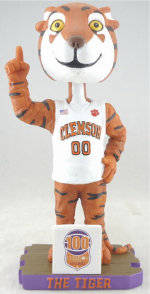 First 2,000 Fans at Clemson vs. NC State Men's Basketball Game to Receive Tiger Bobbleheads