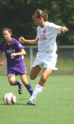 Lady Tiger Soccer Team Downs Coastal Carolina 5-0 Wednesday Night