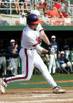 Harvey's Two Homers, Two Big Innings Lead Clemson to 13-4 Win Over Virginia Friday.