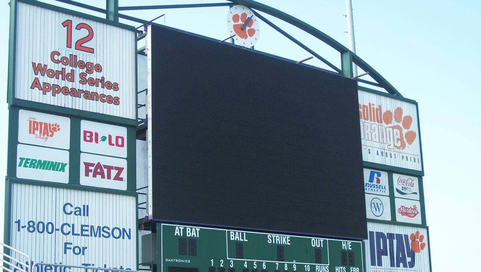 Baseball Video/Scoreboard Construction Update