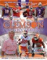 Clemson Spring Football Programs Available for Purchase