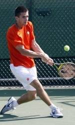 Clemson Men's Tennis Team to Open 2012 Season on Sunday