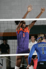 Clemson Volleyball Returns To Jervey Gym To Face Maryland, Boston College