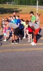 Clemson Men's Soccer Team Participates in Community Event
