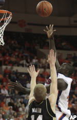 No. 18 Clemson Posts 61-58 Victory Over Purdue