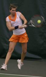 #12 Women's Tennis Falls At Fifth-Ranked Duke, 6-1