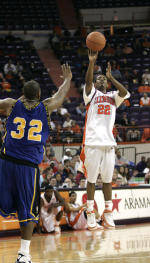 Men's Basketball to Face Tough S.C. State Tonight at 7:30 PM