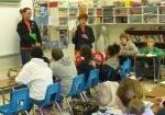 Solid Orange Squad Visits Ware Shoals Elementary School