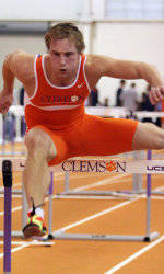 Feathers, Iverson Named to All-ACC Academic Team for Men's Track & Field