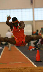 Men's Track Completes Day One at Virginia Tech Invitational