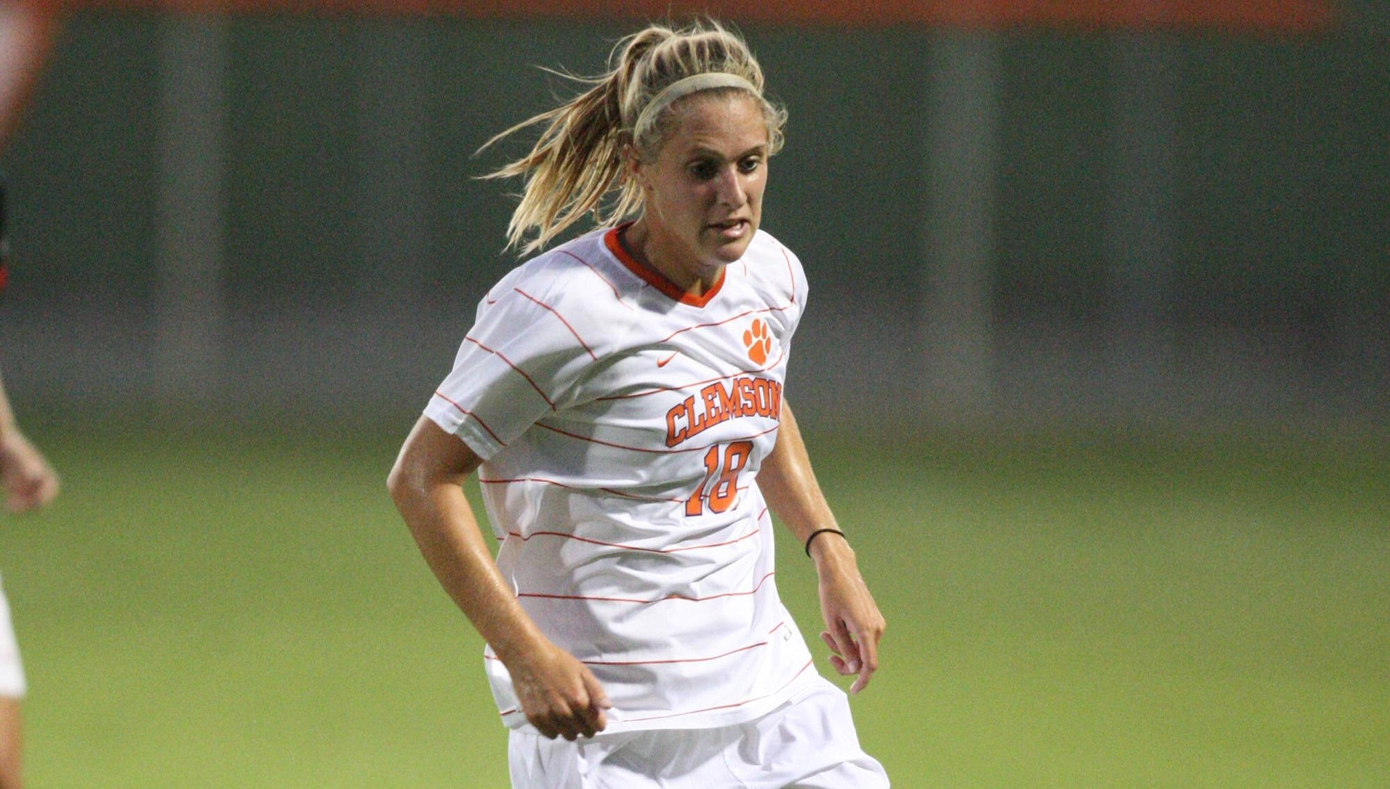 Clemson Women's Soccer Team to Open 2012 Season Friday at Historic Riggs Field