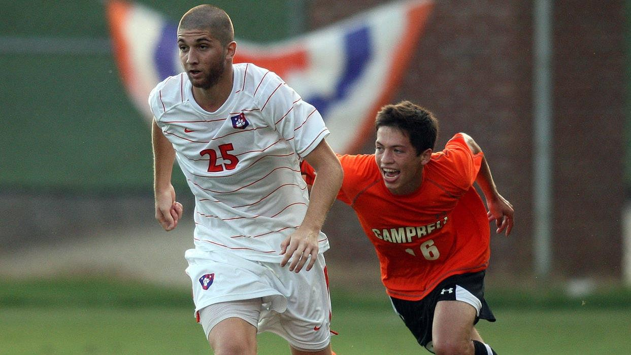 Clemson and Campbell Play to 1-1 Draw in Men's Soccer Exhibition Action