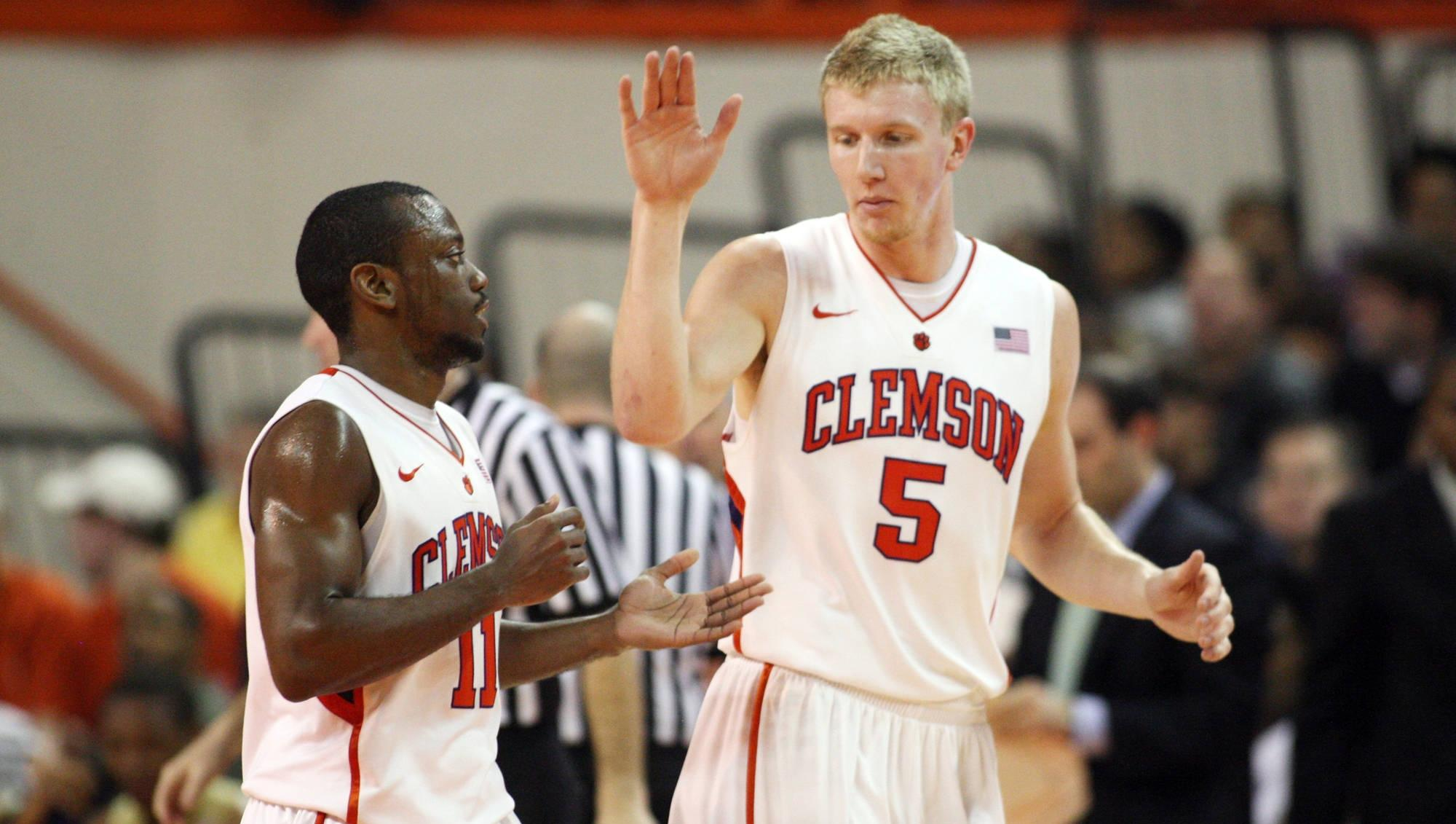 Three 2012 Clemson Graduates Sign Professional Basketball Contracts