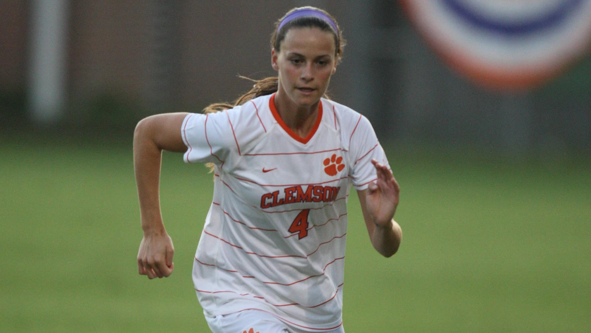 Clemson Women's Soccer Team Defeats South Carolina in Double Overtime in Columbia