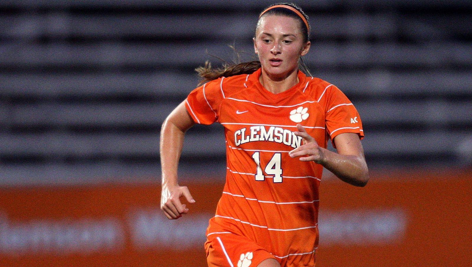 Clemson Women's Soccer Team Opens 2012 Season with Win over Appalachian State