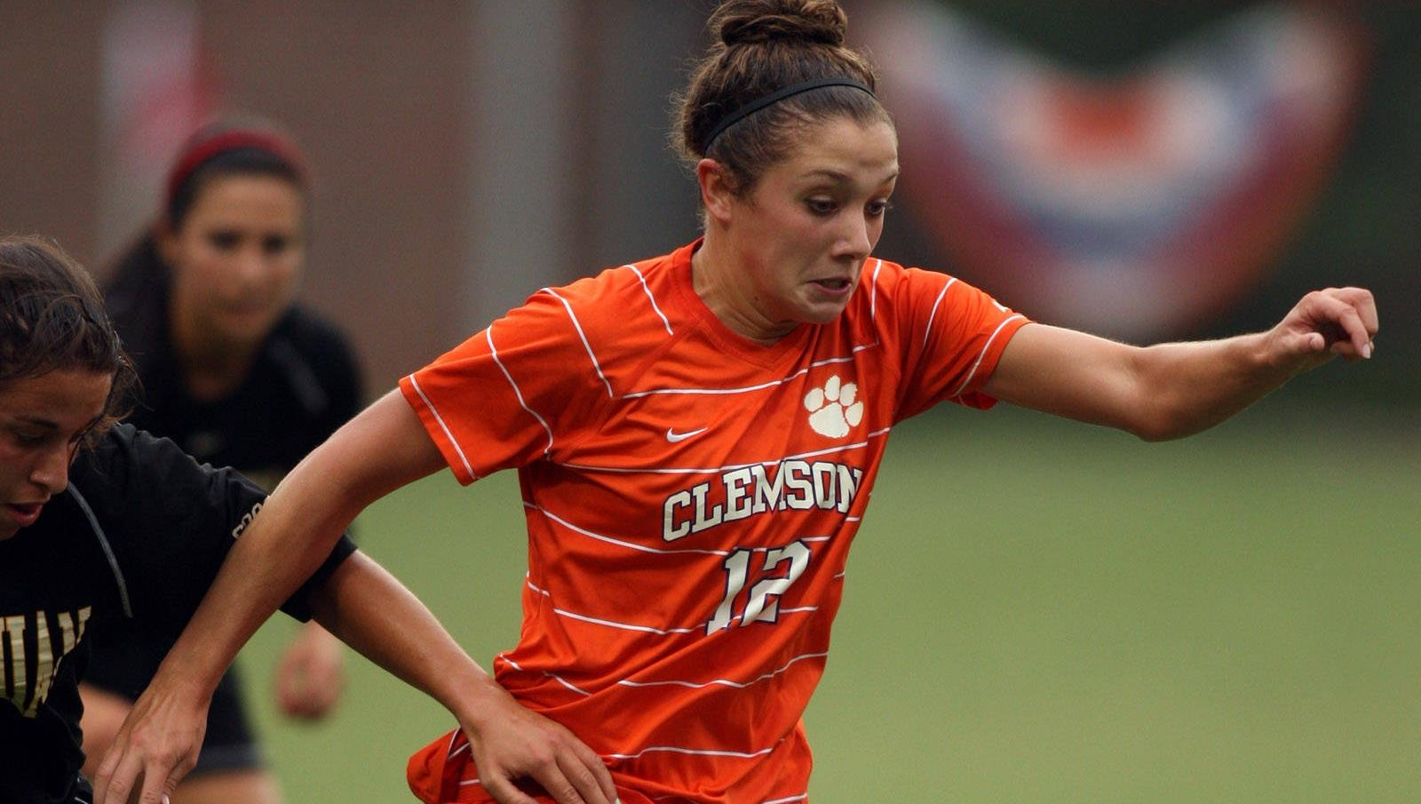 Clemson Women's Soccer Team to Face South Carolina in Columbia Saturday Night
