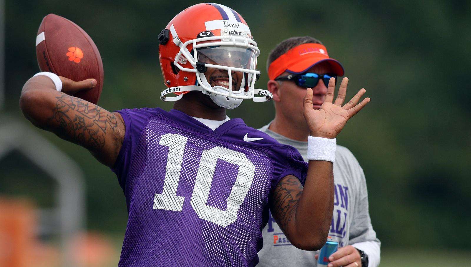 Clemson Football Video Report: Quarterback Tajh Boyd