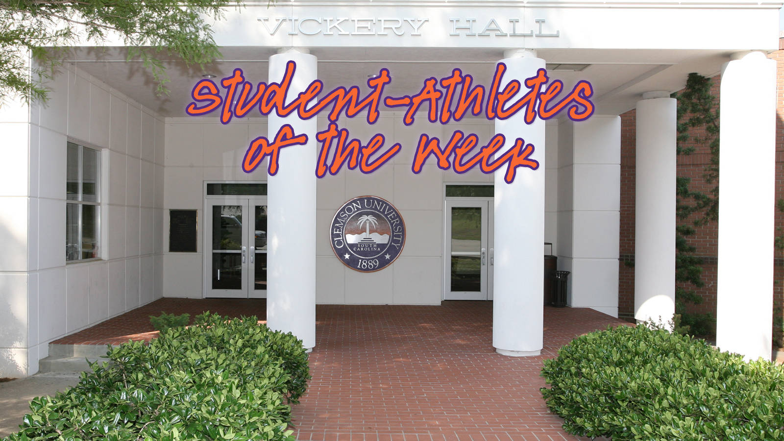 Vickery Hall's Student-Athletes of the Week: Sept. 16-22