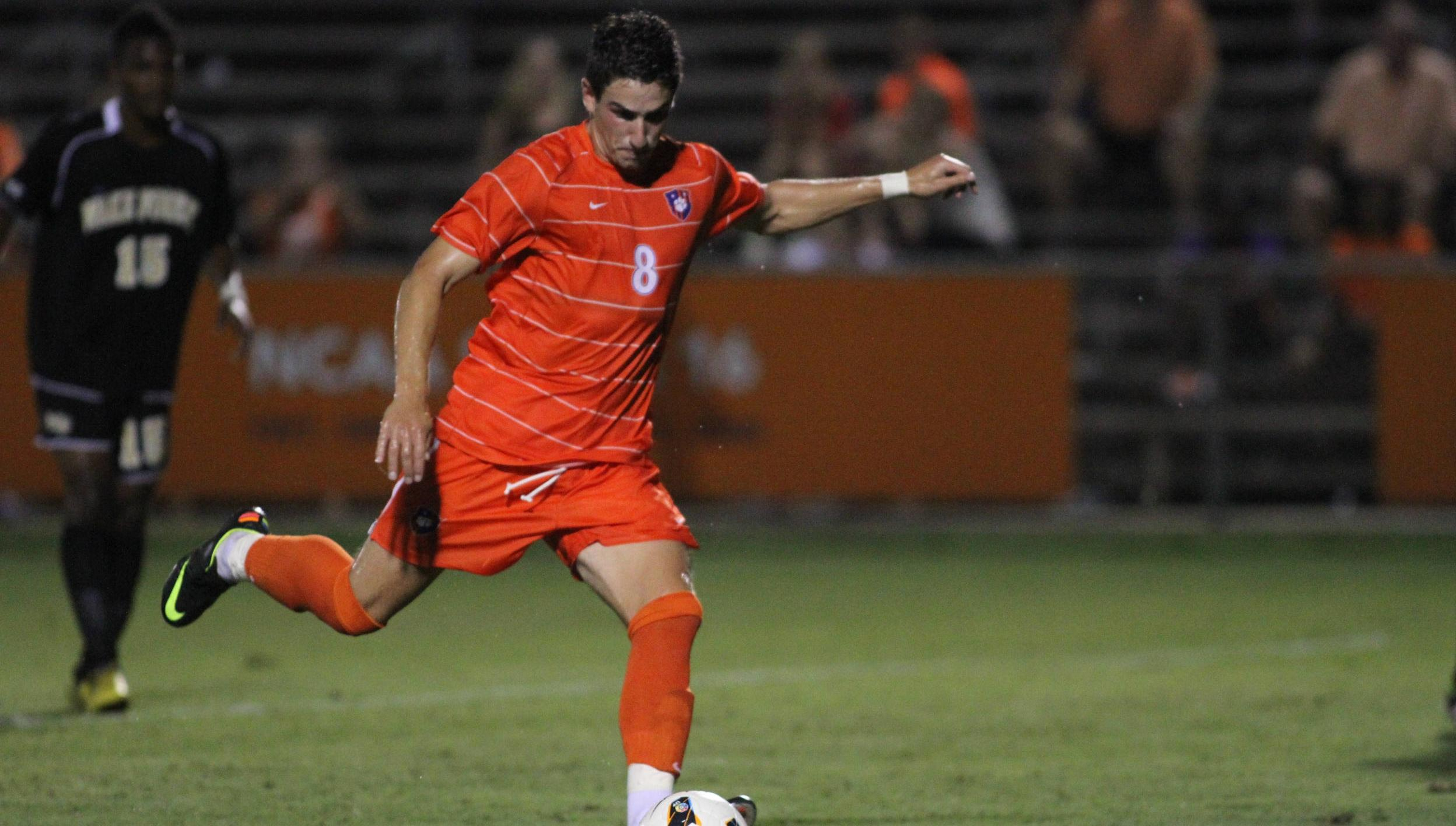 Clemson and #14 Wake Forest Play to a 1-1 Tie