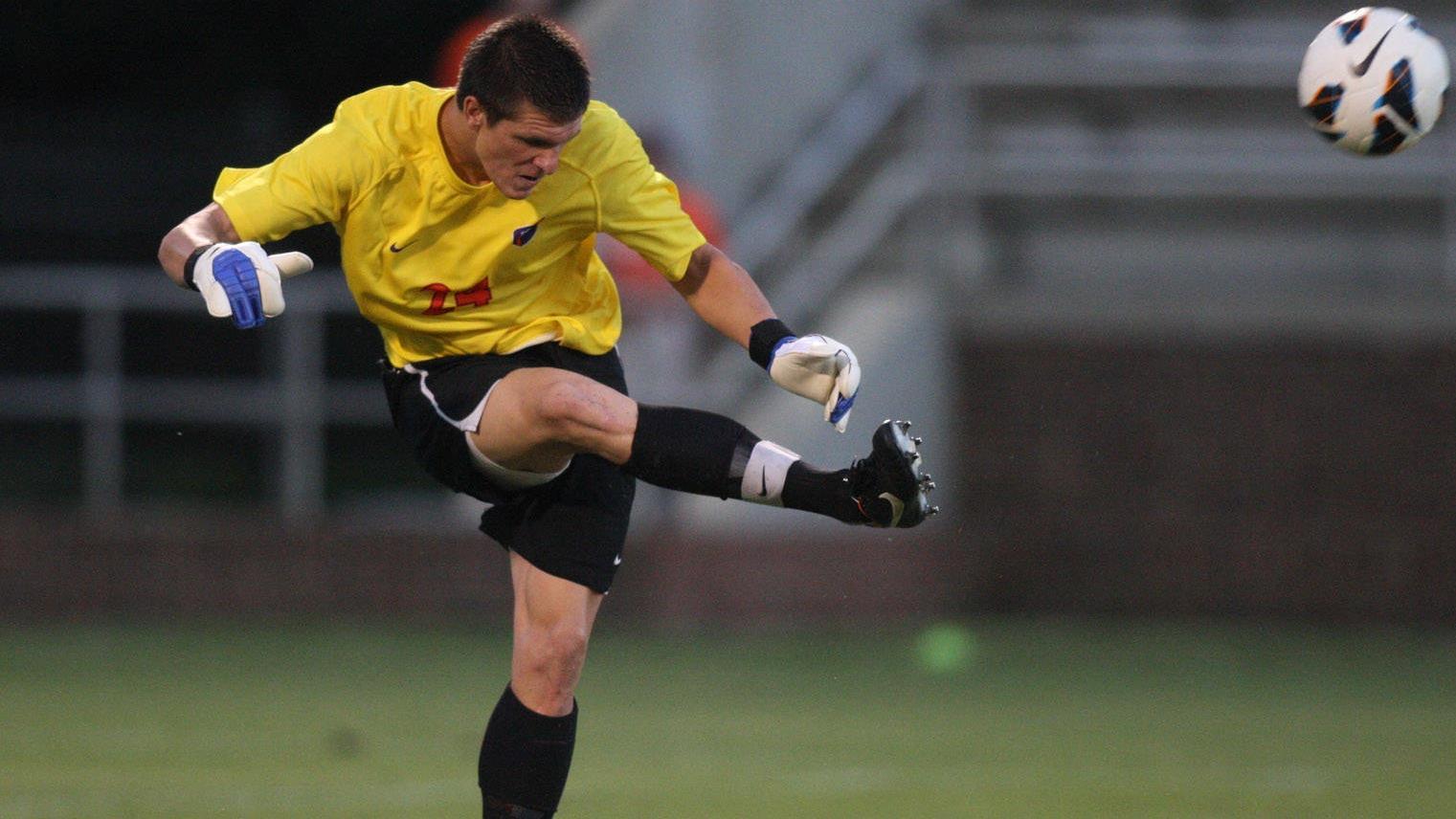Exclusive: Glodack Delivers Men's Soccer Team into ACC Semis