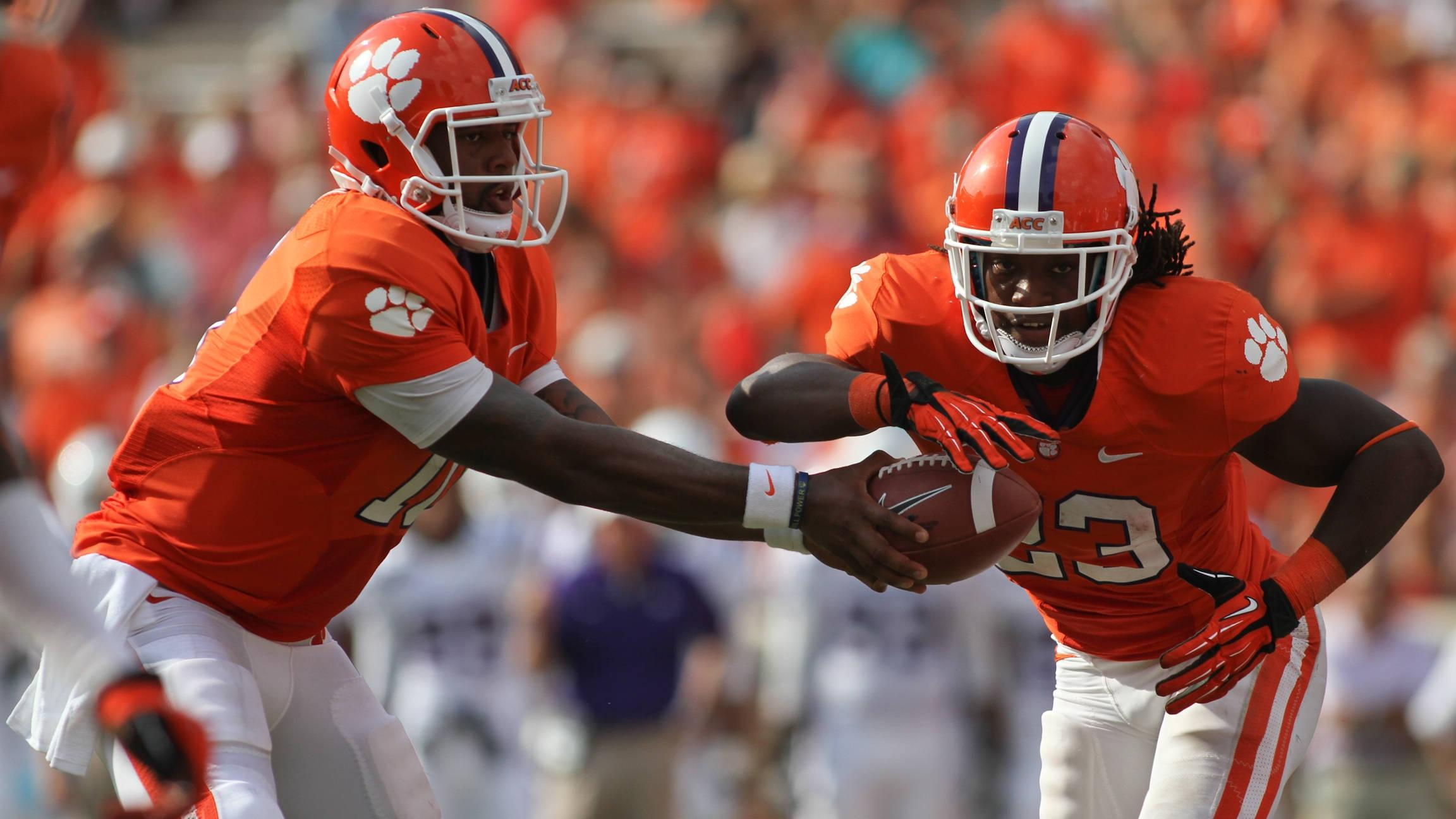 Clemson vs. Boston College Football Game Notes