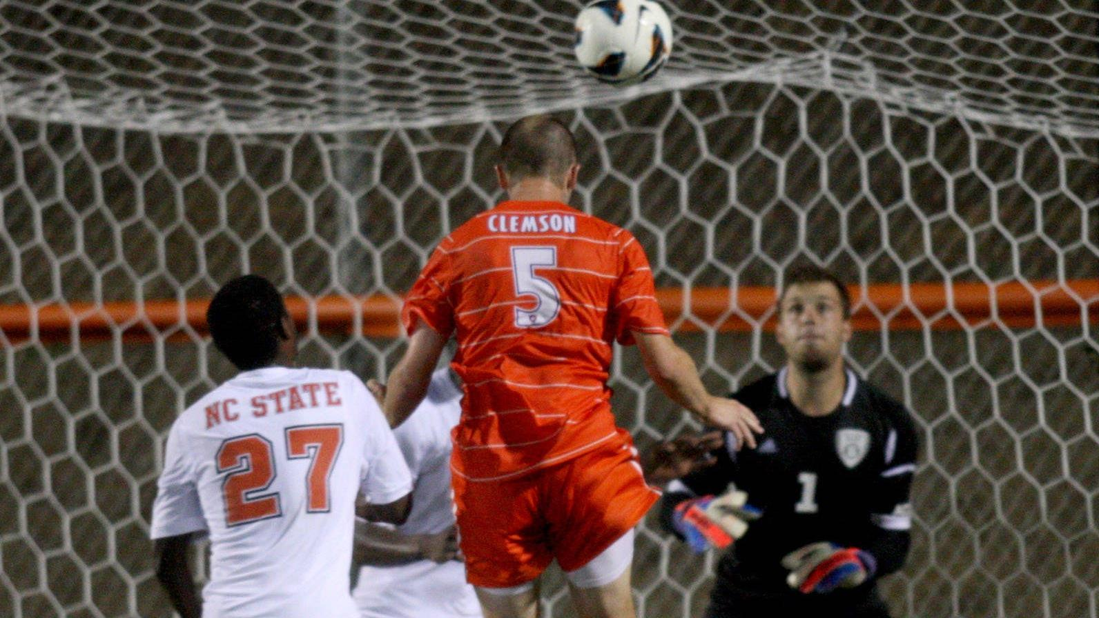 Clemson Upsets 17th-Ranked NC State 2-1