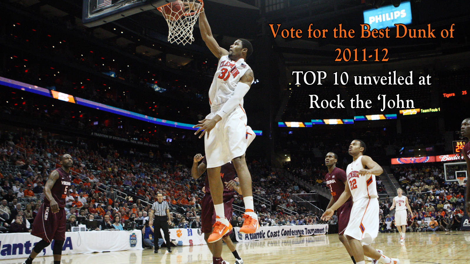 Rock the 'John: Vote for Top Dunks of 2011-12