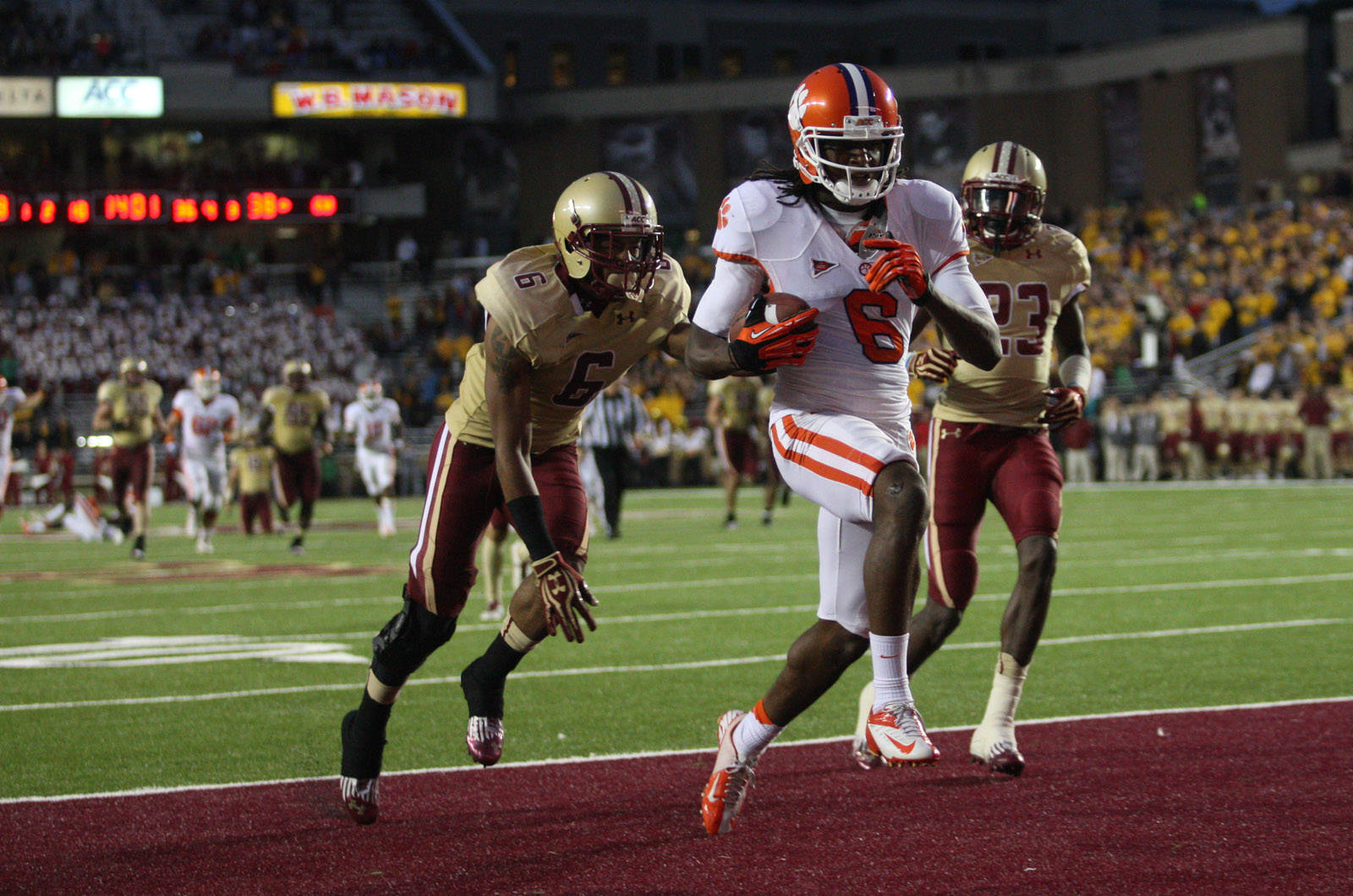 Tigers Use Team Effort to Beat Boston College
