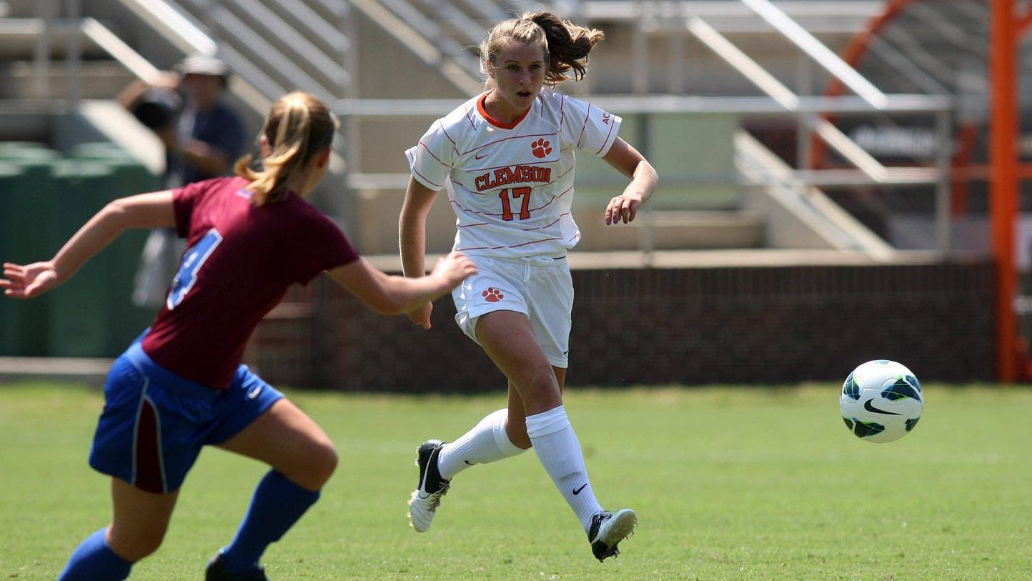Clemson Women's Soccer Team to Play Host to Winthrop Monday Night