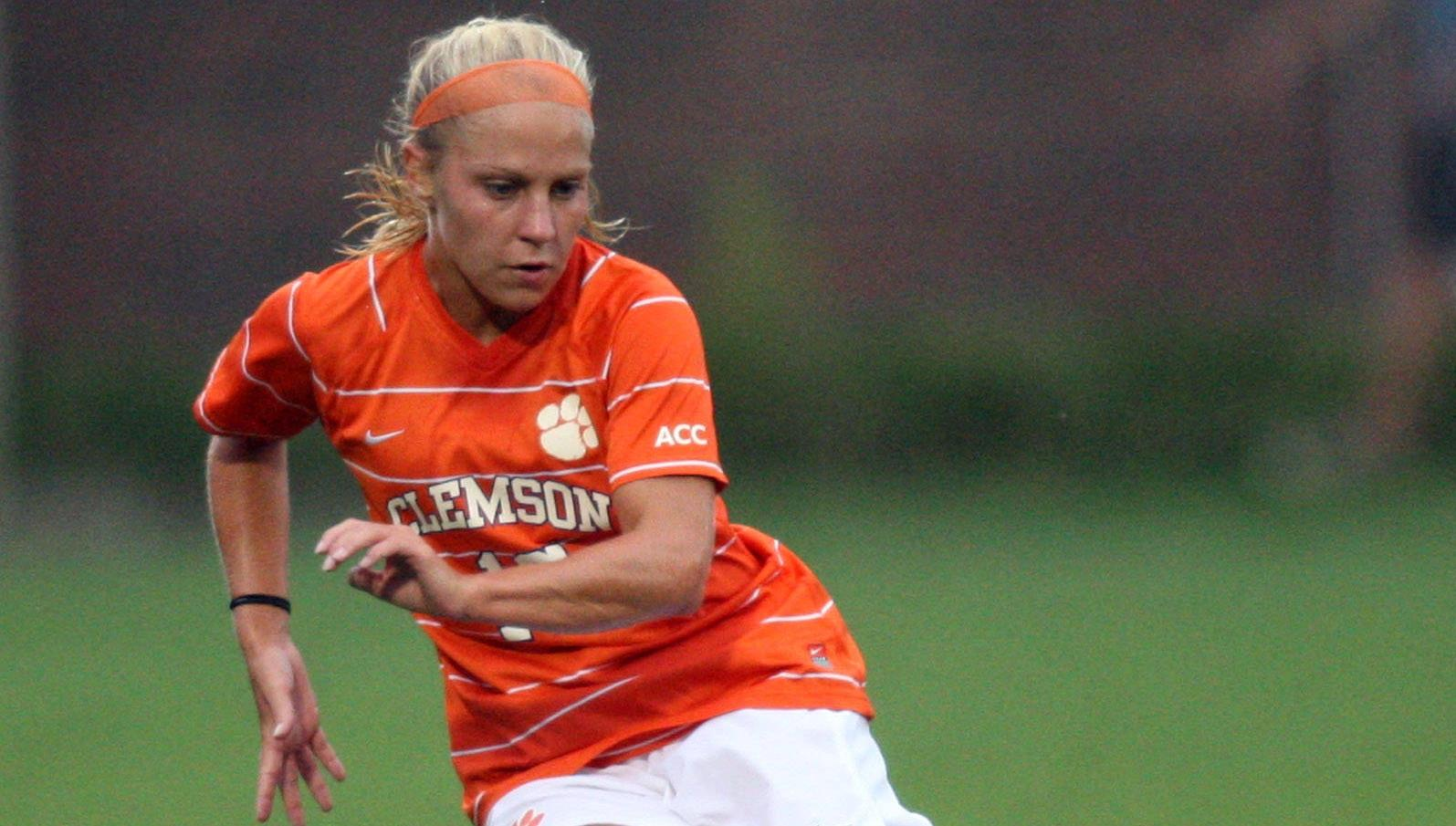 Clemson and Davidson Play to 1-1 Double-Overtime Tie Friday in Davidson, NC