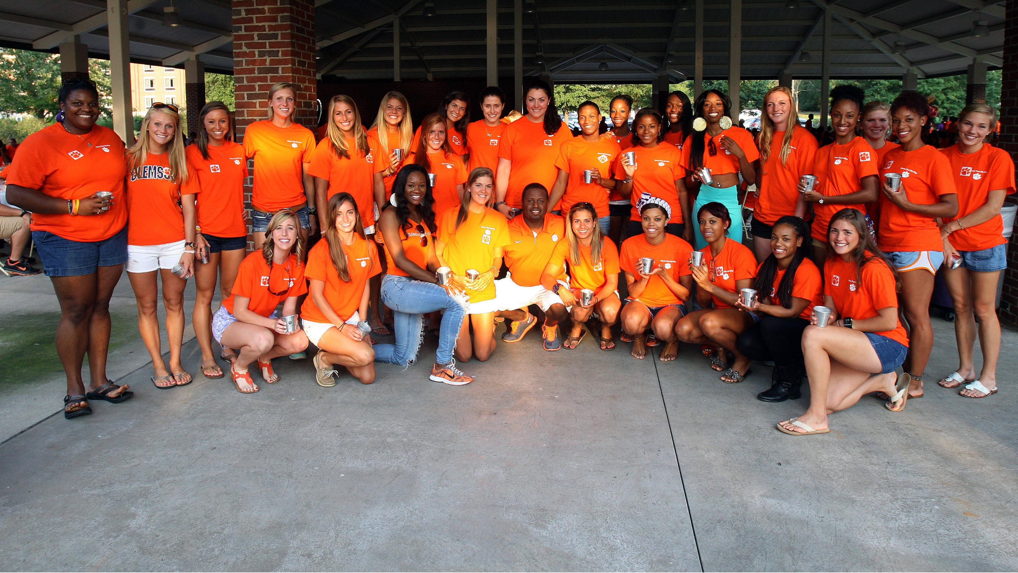 Clemson Women's Track & Field/Cross Country Team Awarded President's Pride Cup for 2011-12