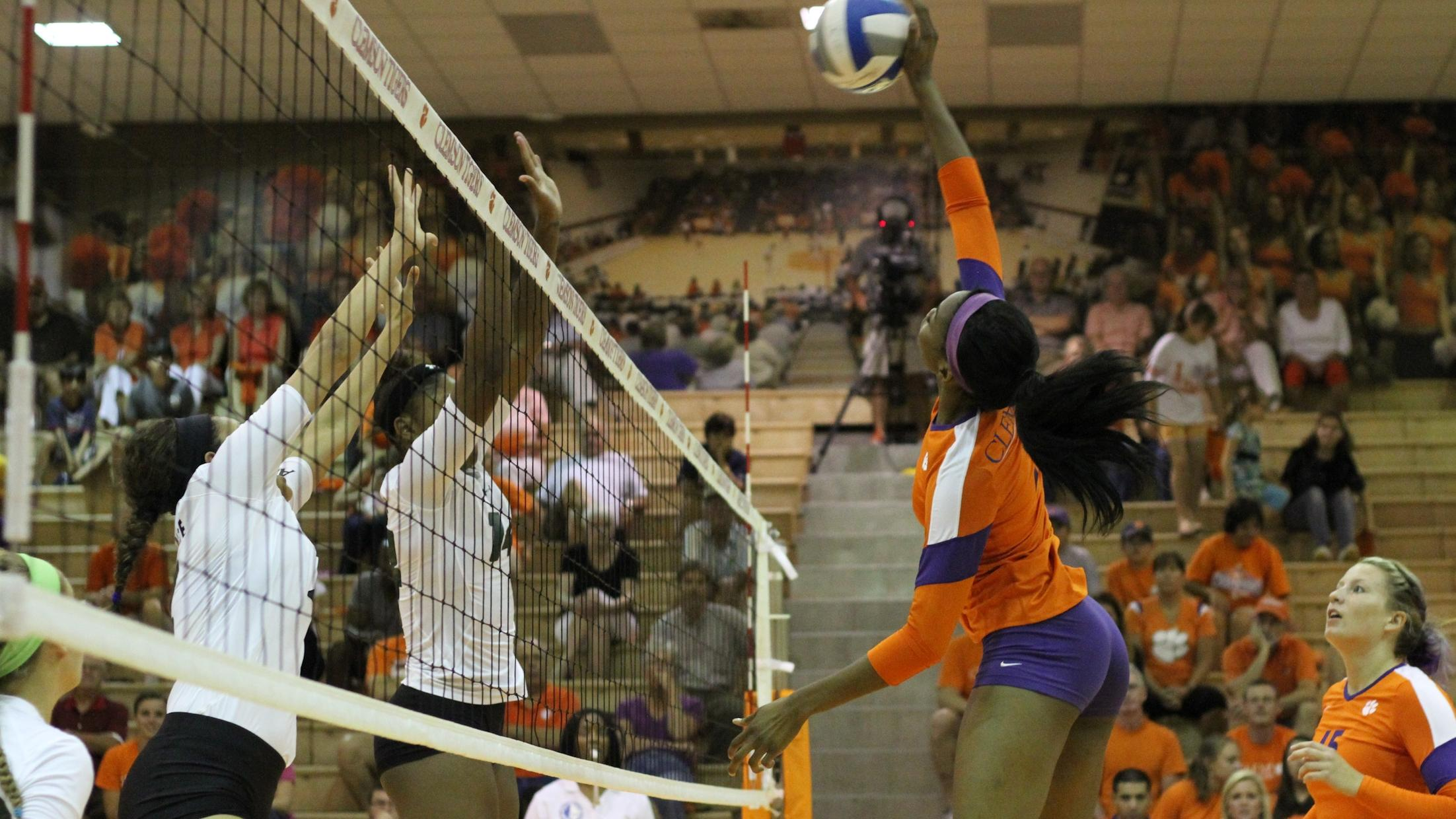 Volleyball Heads to Columbia for Carolina Clash