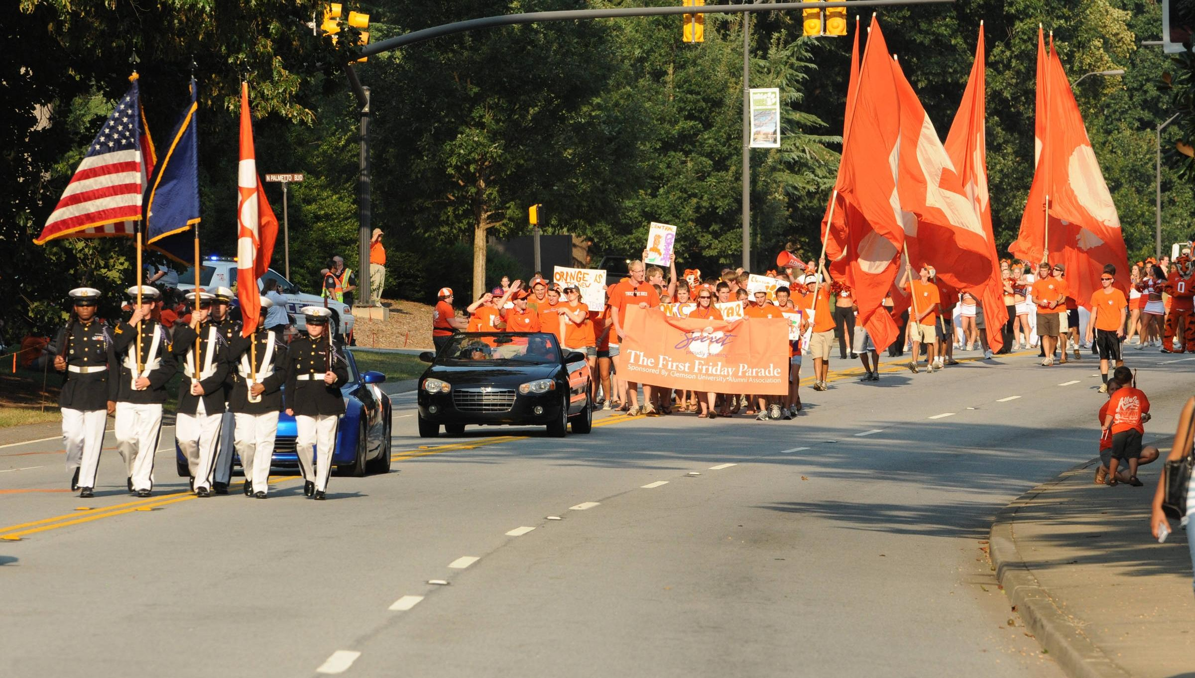 """Clemson Celebrates """"Time Honored Traditions"""" at First Friday"""