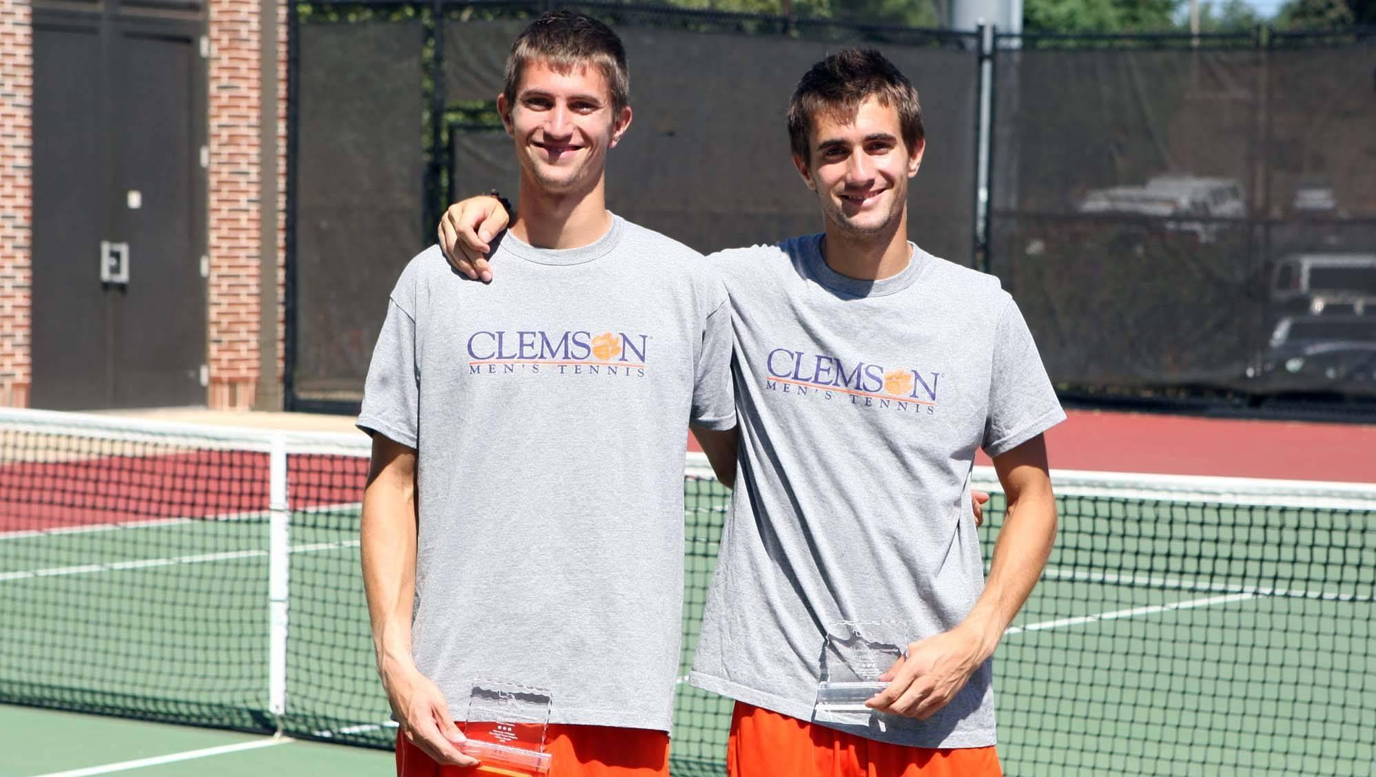 Clemson's Doubles Team Advances