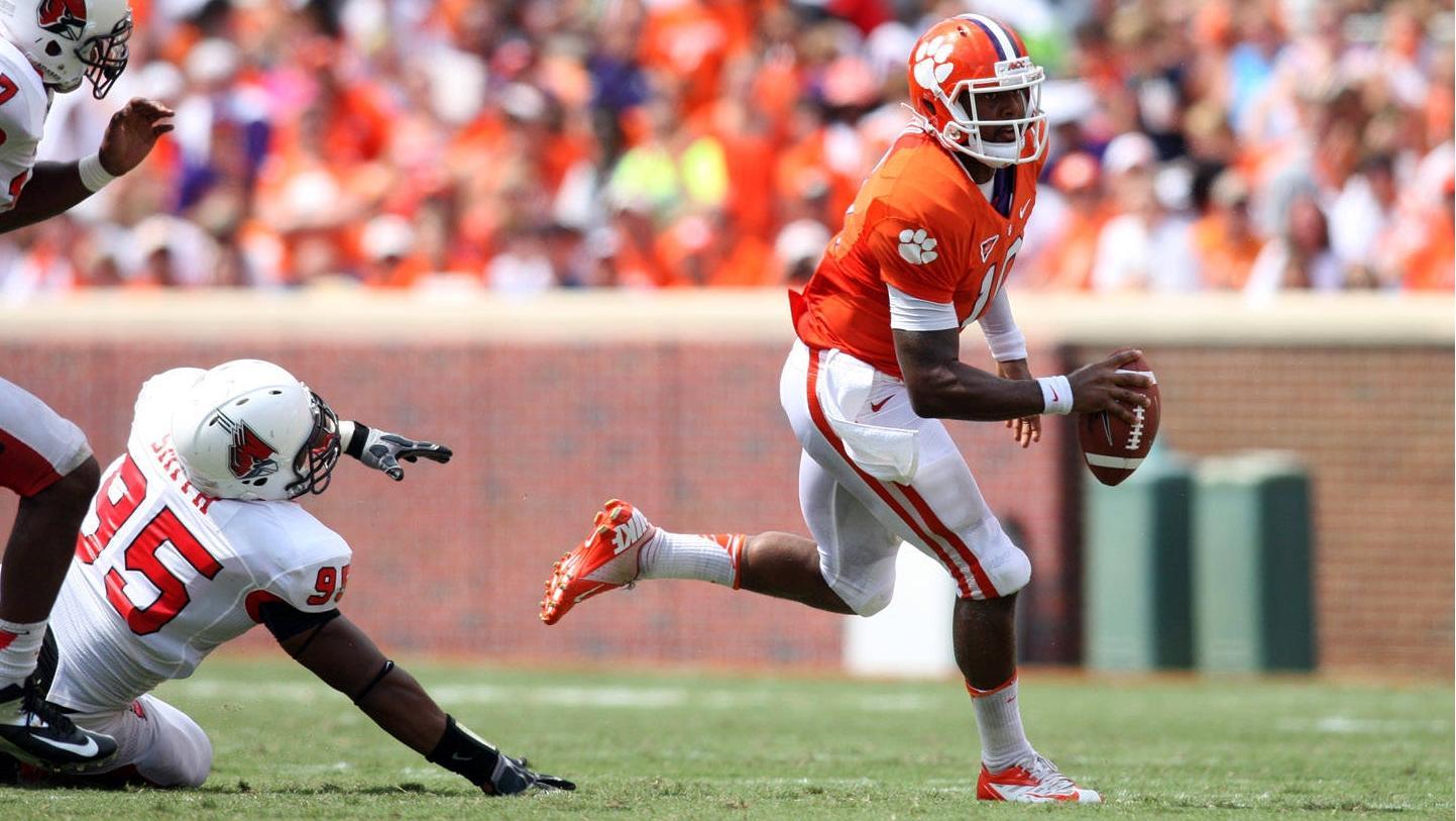 Clemson Football Video Report: Quarterback Tajh Boyd