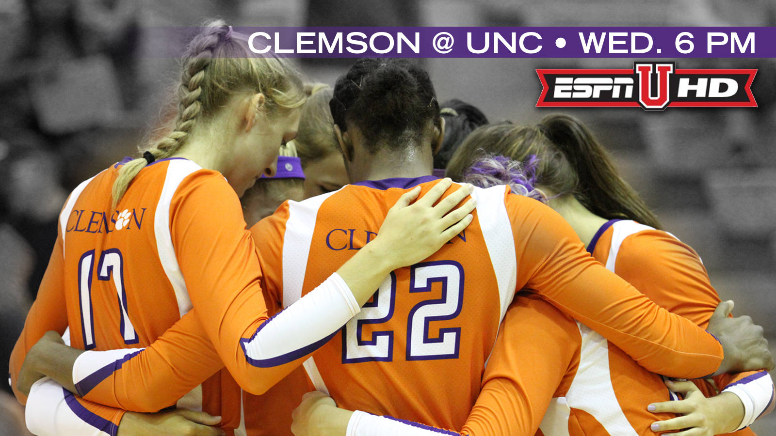 Volleyball to Play North Carolina Wednesday on ESPNU