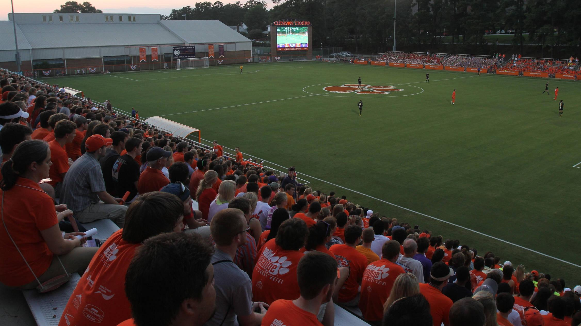 ClemsonTigers.com Unveils New Clemson360 View of First Friday 2012 at Historic Riggs Field
