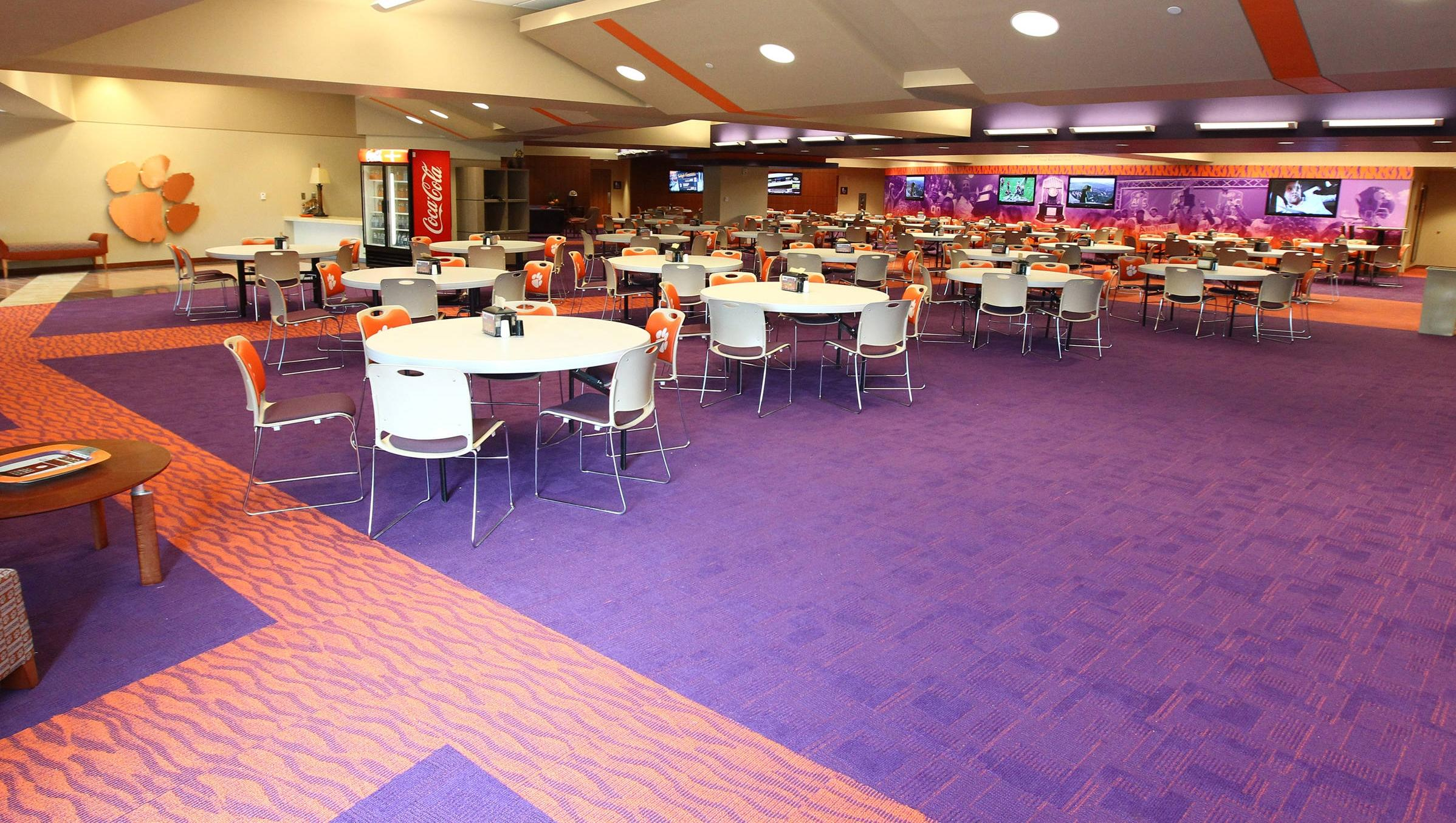 Football Game Program Feature: Clemson's New Training Table