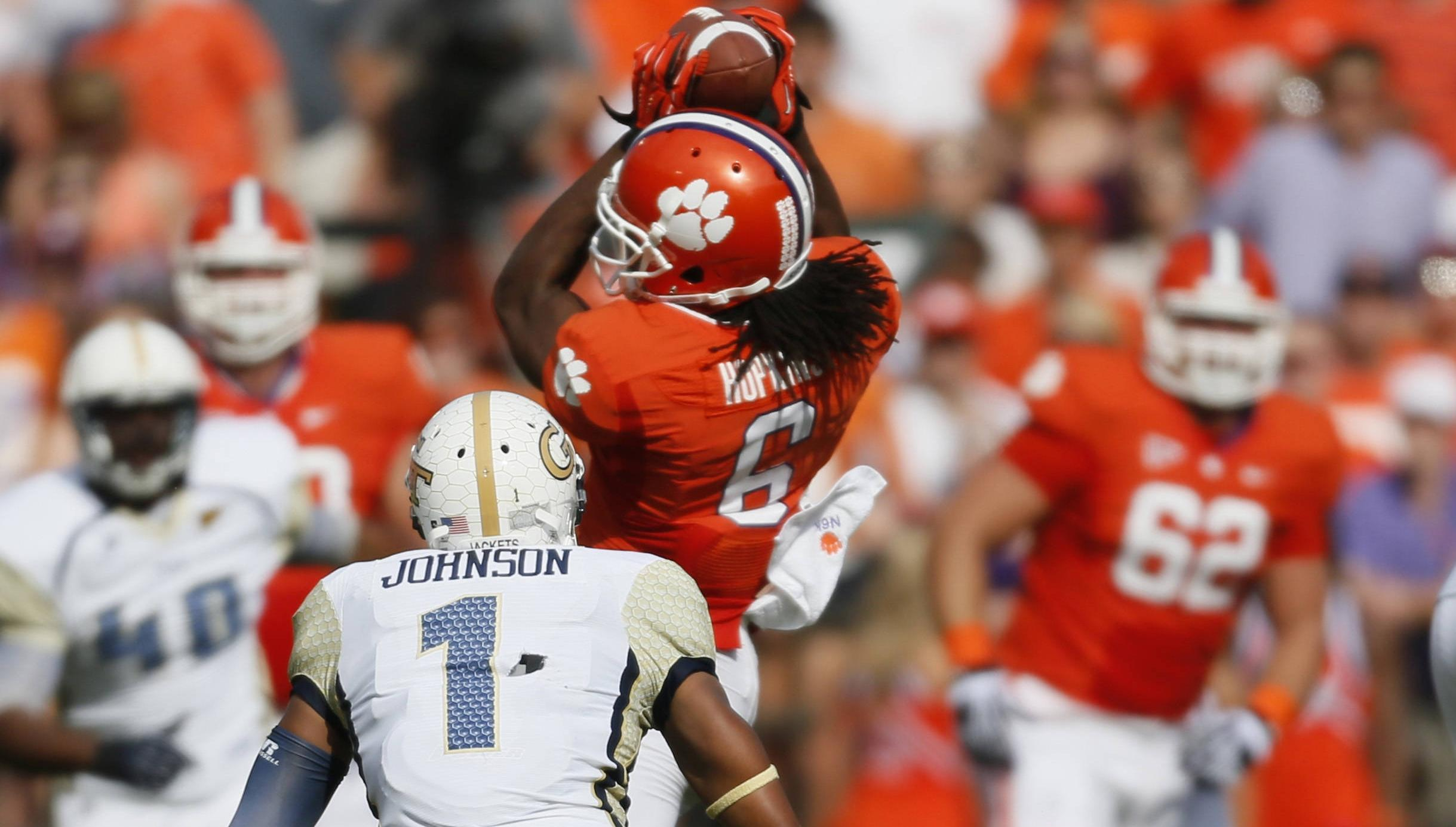 Clemson vs. Virginia Tech Game to Kick Off at Noon on October 20
