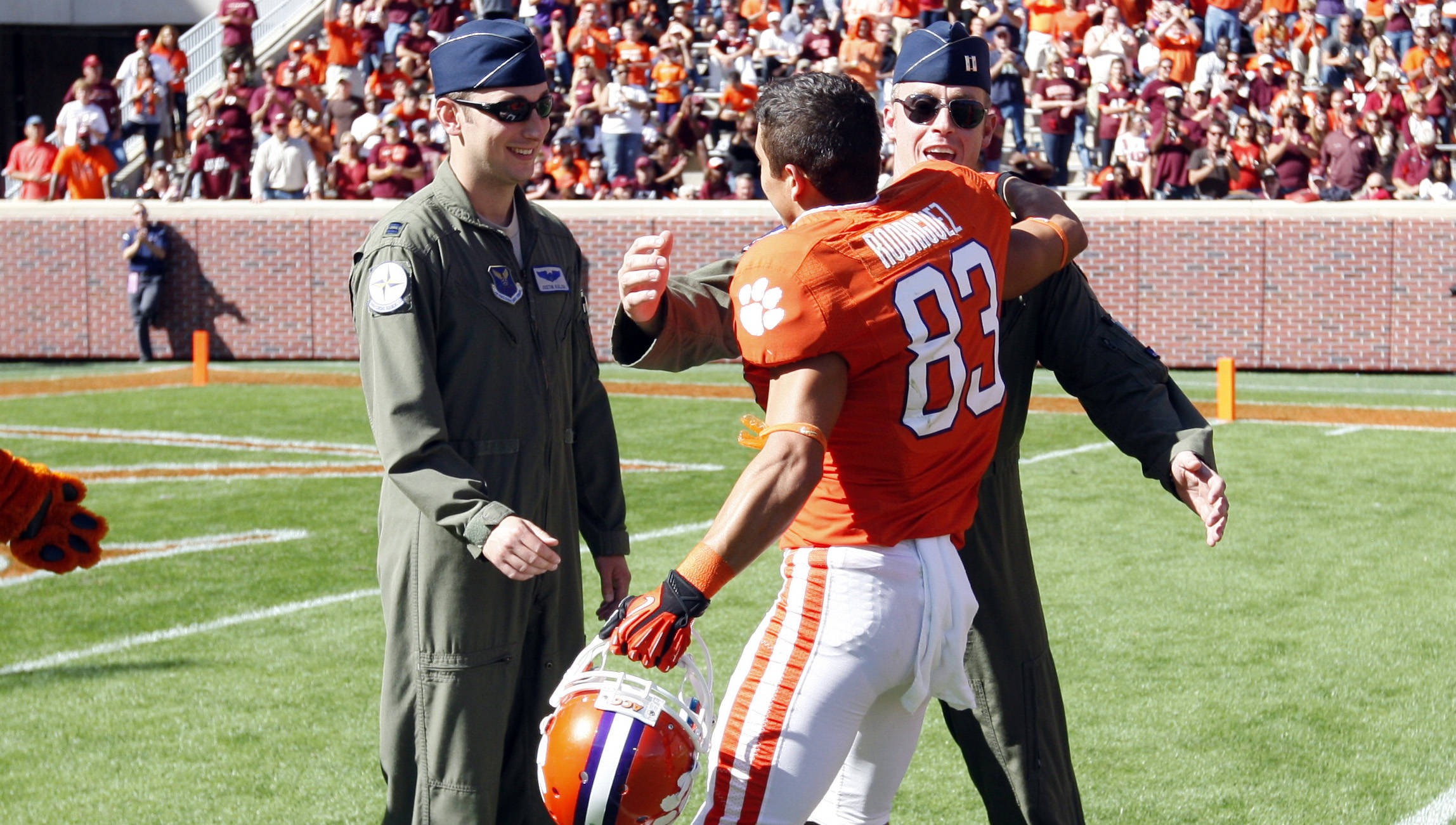 An Inside Look at Clemson's Military Appreciation Day