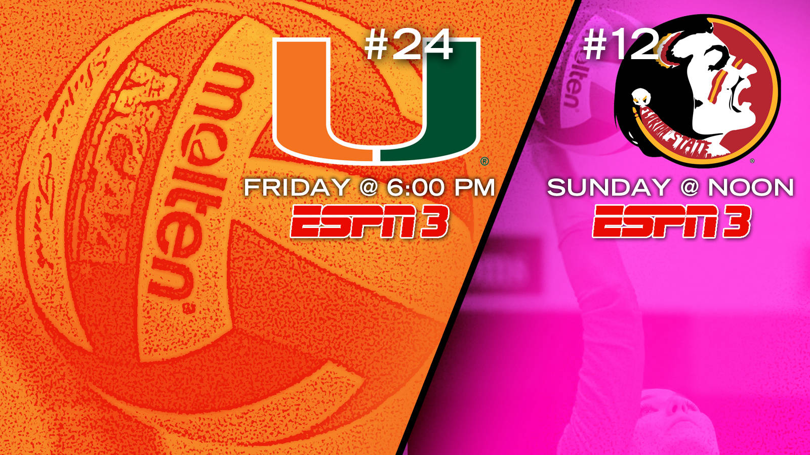 Volleyball Hosts a Pair of Ranked Teams this Weekend
