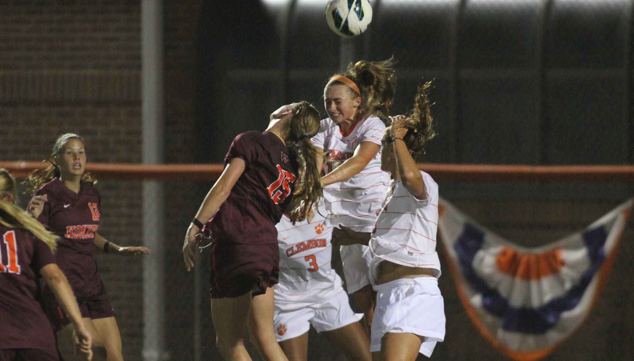 Tigers Fall to #22 Virginia Tech Thursday Night at Historic Riggs Field
