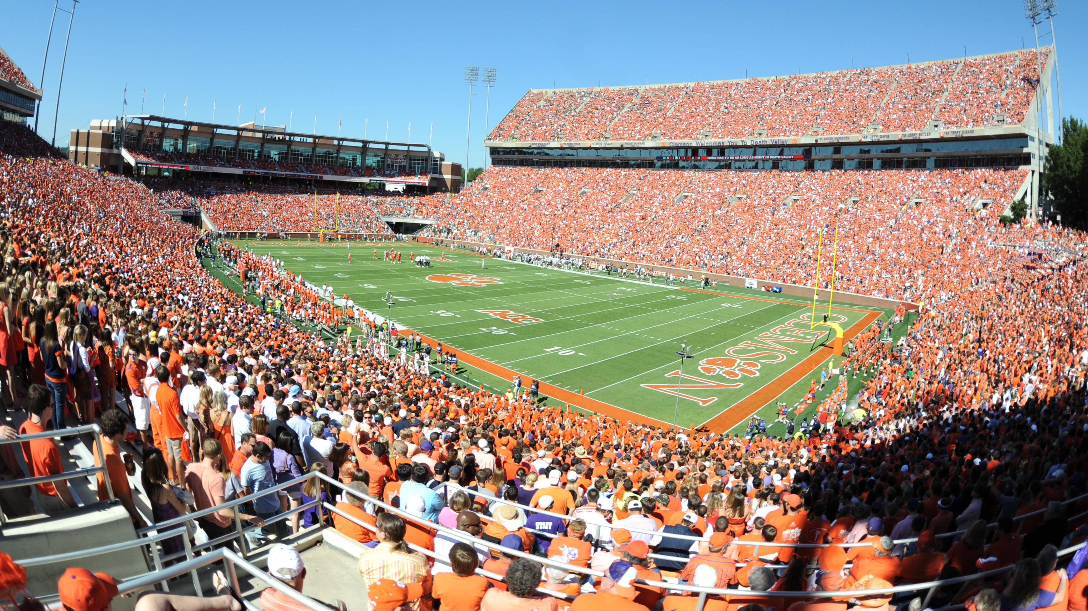 Limited Number of Tickets Available for Clemson vs. Virginia Tech Game