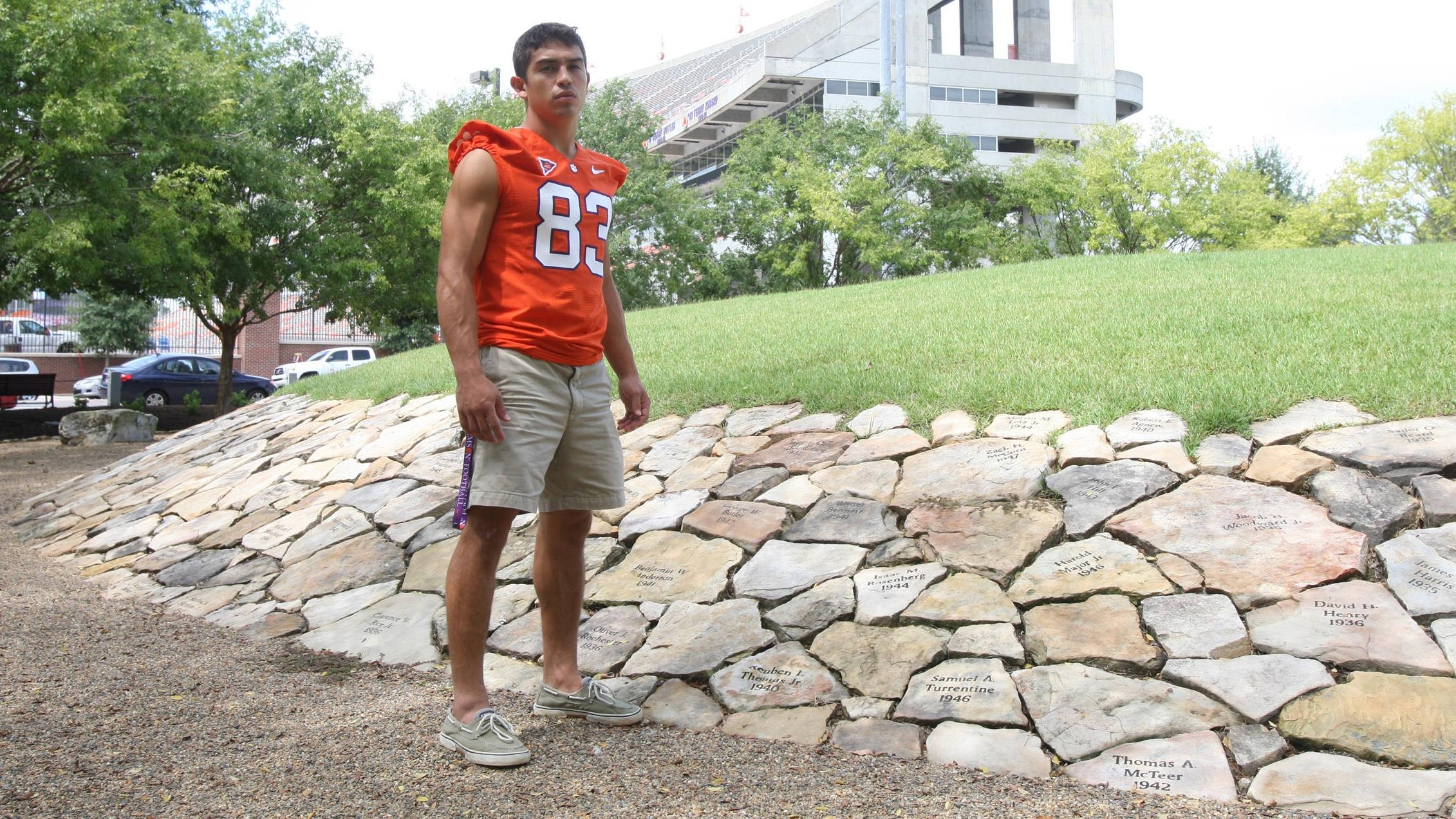 Football Game Program Feature: Keeping His Promise