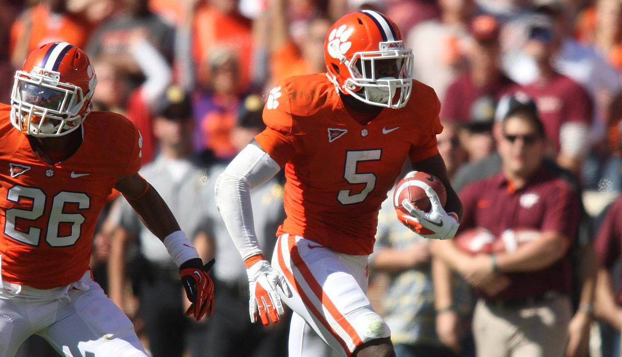 Defense Fuels Clemson's Win Over Hokies