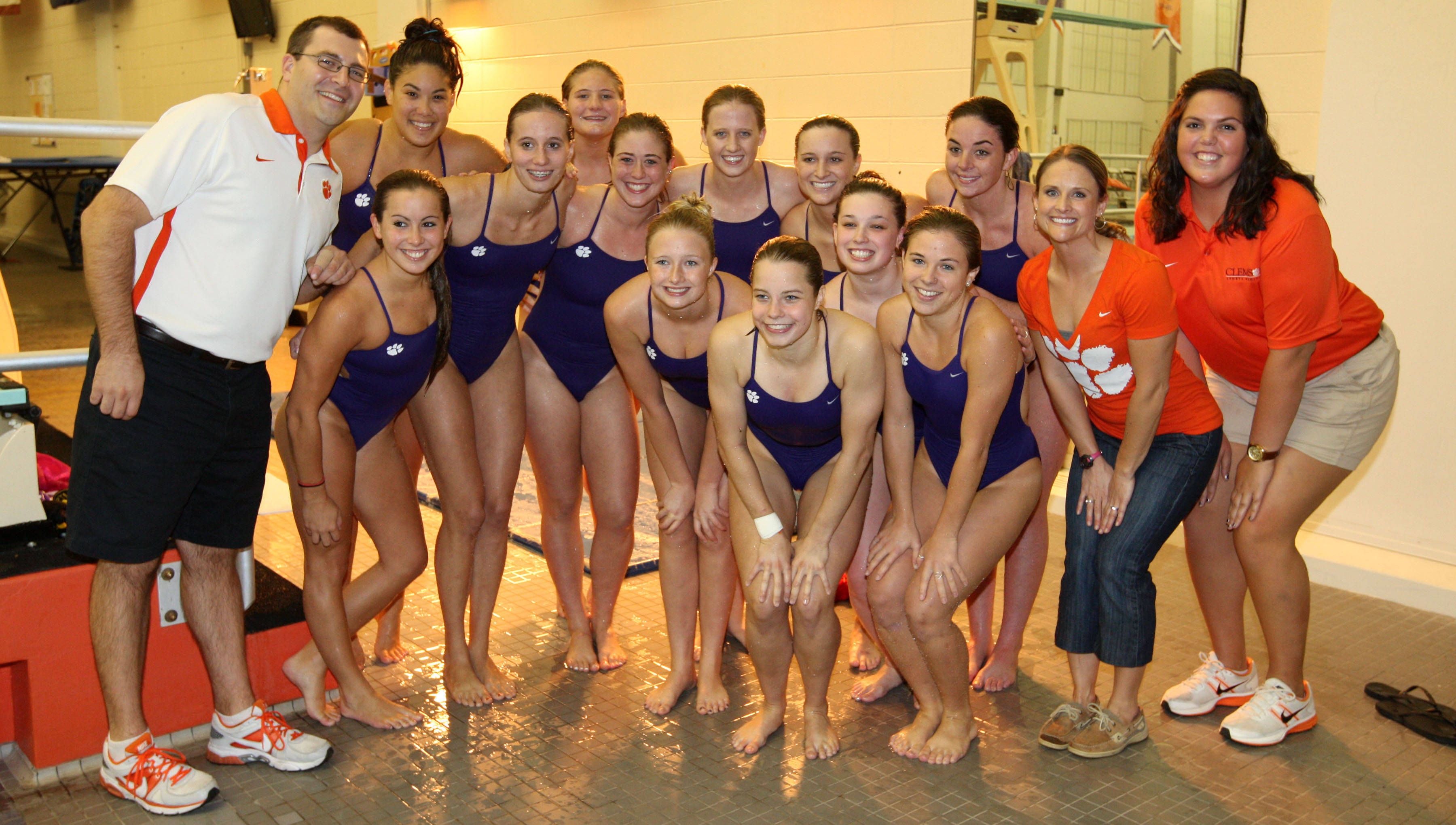 Inaugural Home Diving Meet Features Tigers, Wildcats
